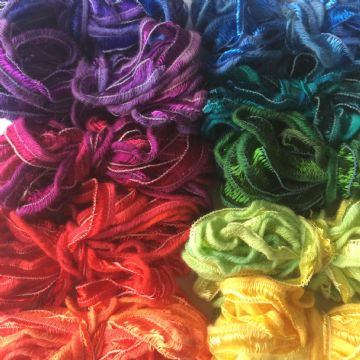 Cotton Viscose Ribbon Bags 7.95
